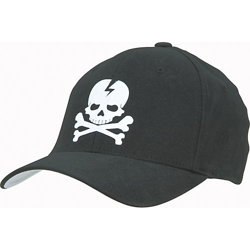 Gear One Skull Flex Cap Black Small/Medium