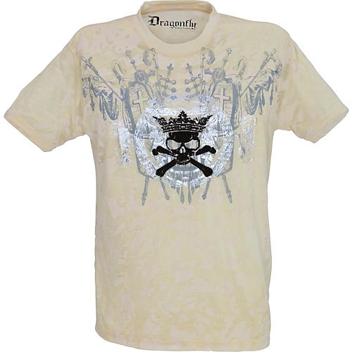 Dragonfly Clothing Company Skull and Crossbones T-Shirt-thumbnail