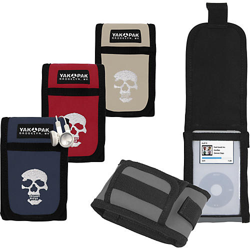 Yak Pak Skull iPod Case