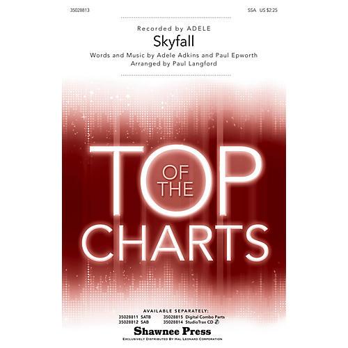 Shawnee Press Skyfall SSA by Adele arranged by Paul Langford