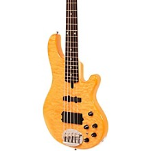 Lakland Skyline Deluxe 55-02 5-String Bass Level 1 Natural Rosewood Fretboard