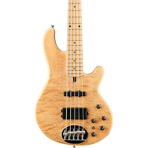 Lakland Skyline Deluxe 55-02 5-String Bass Natural Maple Fretboard-thumbnail