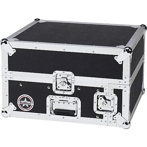Road Runner Slant Mixer Rack Case/Vertical Rack