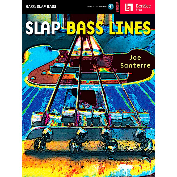 Hal Leonard Slap Bass Lines Book/CD