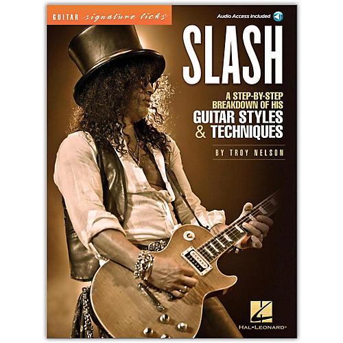Hal Leonard Slash - Guitar Signature Licks (Book/Online Audio)-thumbnail