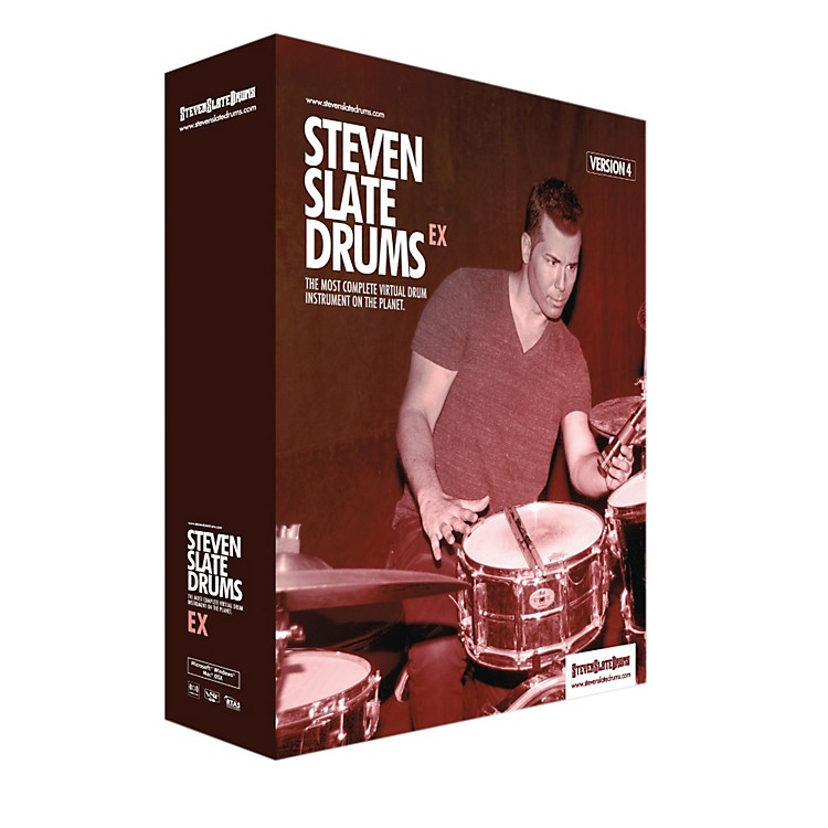 Steven Slate DrumsSlate Digital SSD4EX Virtual Instrument