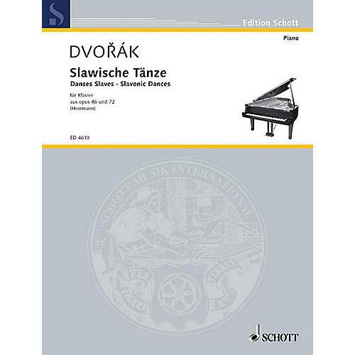 Schott Slavonic Dances, Op. 46 and 72 Schott Series-thumbnail