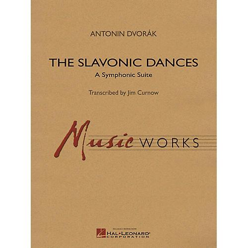 Hal Leonard Slavonic Dances Symphonic Suite Concert Band Level 5 Arranged by James Curnow-thumbnail