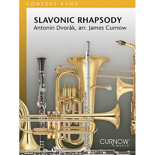 Curnow Music Slavonic Rhapsody (Grade 3 - Score Only) Concert Band Level 3 Arranged by James Curnow-thumbnail
