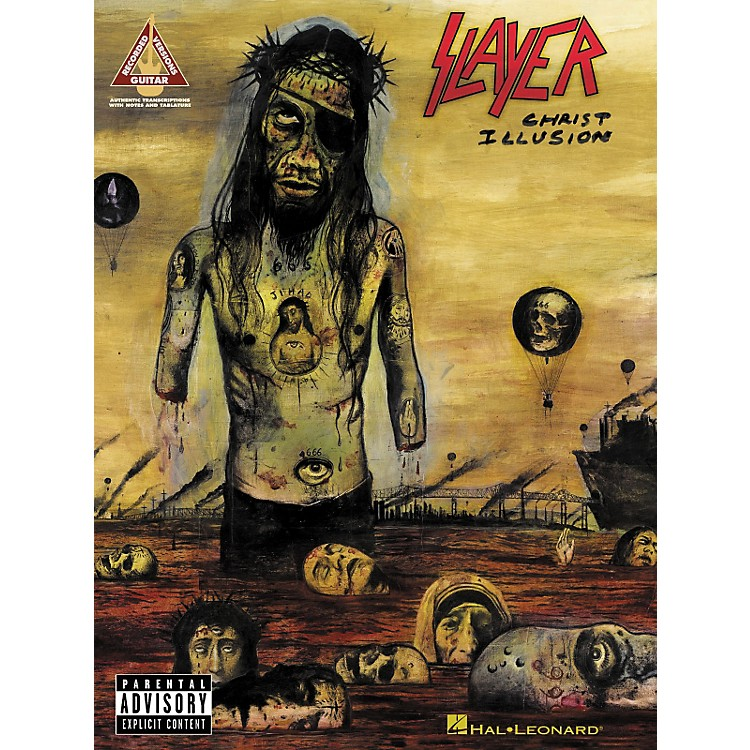 Hal Leonard Slayer - Christ Illusion Songbook