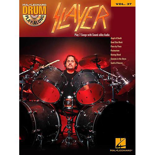 Hal Leonard Slayer - Drum Play-Along Volume 37 (Book/CD)