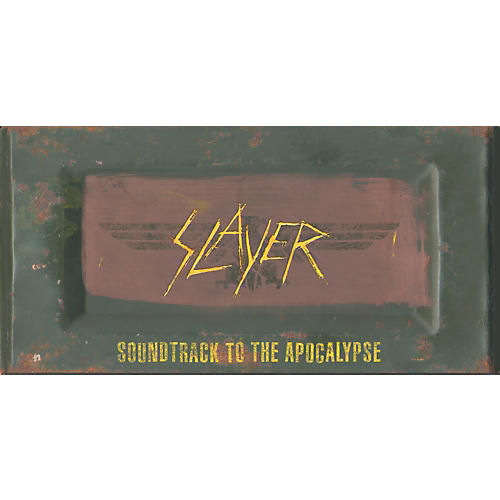 Music CD Slayer - Soundtrack To The Apocalypse Limited Edition Box Set (CD/DVD)