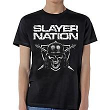 Slayer Slayer Nation T-Shirt Medium Black