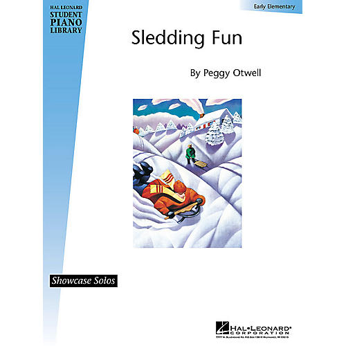 Hal Leonard Sledding Fun (Early Elem Showcase Solo) Piano Library Series by Peggy Otwell-thumbnail