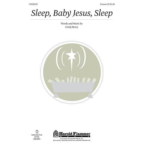 Shawnee Press Sleep, Baby Jesus, Sleep UNIS composed by Cindy Berry-thumbnail