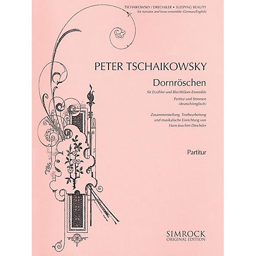 Simrock Sleeping Beauty (Dornröschen) Boosey & Hawkes by Tchaikovsky Arranged by Hans-Joachim Drechsler-thumbnail