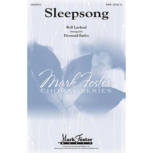Mark Foster Sleepsong SATB arranged by Desmond Earley-thumbnail