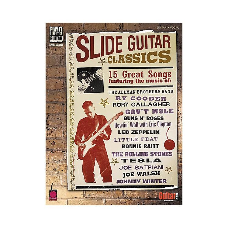 Cherry LaneSlide Guitar Classics Tab Songbook