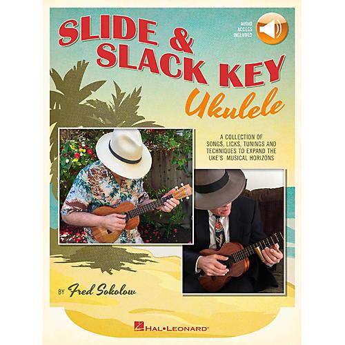 Hal Leonard Slide & Slack Key Ukulele Book/Audio Online-thumbnail