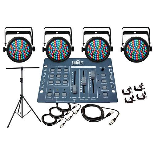 CHAUVET DJ Slim Par 38 4 Light System-thumbnail