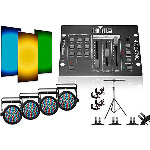 CHAUVET DJ SlimPar 38 DMX3MF 4 Light System-thumbnail