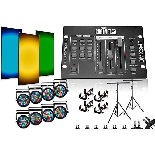 CHAUVET DJ SlimPar 38 DMX3MF 8 Light System-thumbnail