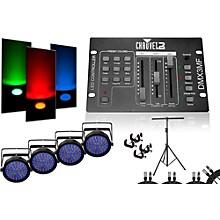 CHAUVET DJ SlimPar 64 DMX3MF 4 Light System