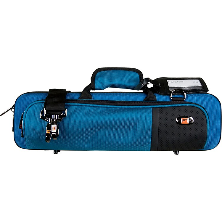ProtecSlimline Flute PRO PAC CaseTeal Blue