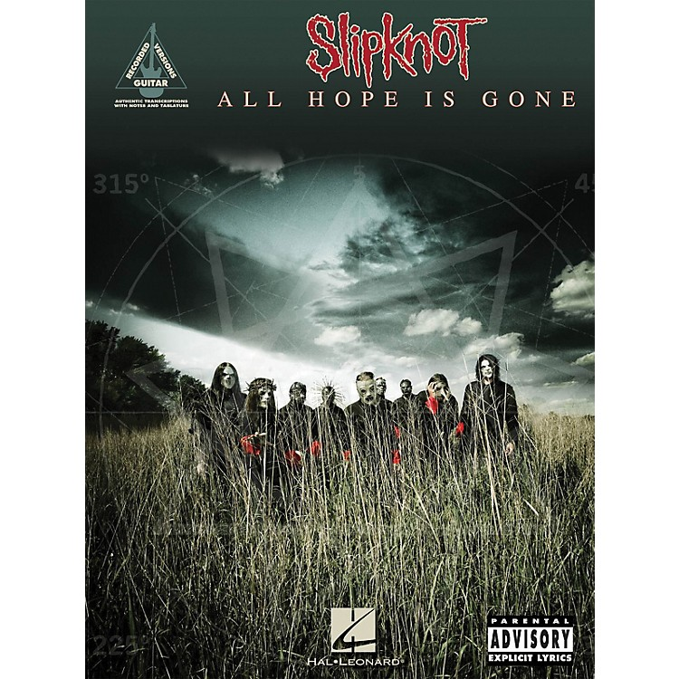 Hal Leonard Slipknot - All Hope is Gone Guitar Tab Songbook