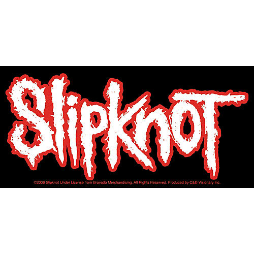 C&D Visionary Slipknot Sticker-thumbnail