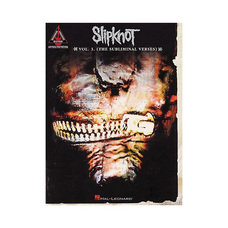 Hal LeonardSlipknot Volume 3 (The Subliminal Verses) Guitar Tab Songbook