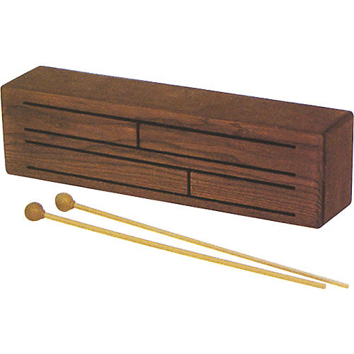 Rhythm Band Slit Drum with Mallets
