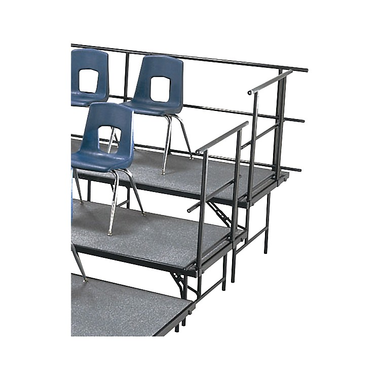 Midwest Folding ProductsSloping Guard Rails for Standing Choral Risers For 2 Level, 36