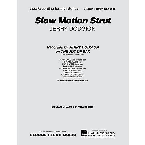 Second Floor Music Slow Motion Strut (Saxophone Part) Jazz Band Level 4 Composed by Jerry Dodgion-thumbnail