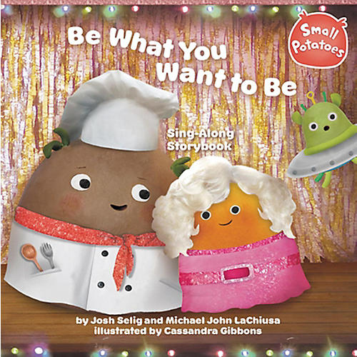 Alfred Small Potatoes Be What You Want to Be Sing-Along Story Book & CD-thumbnail