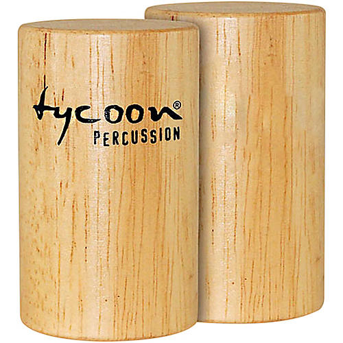 Tycoon Percussion Small Round Wooden Shaker