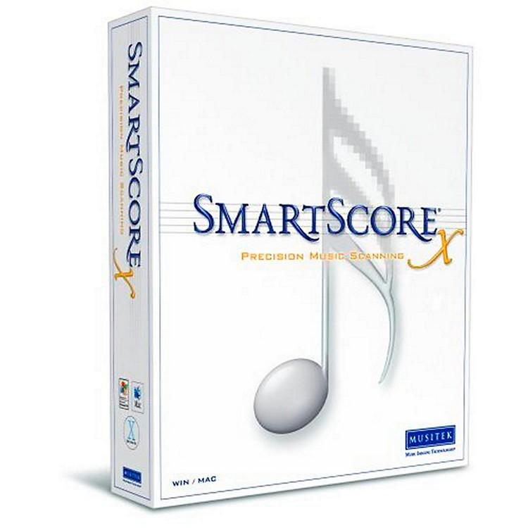 MusitekSmartScore X2 Music Scanning Software Guitar Edition