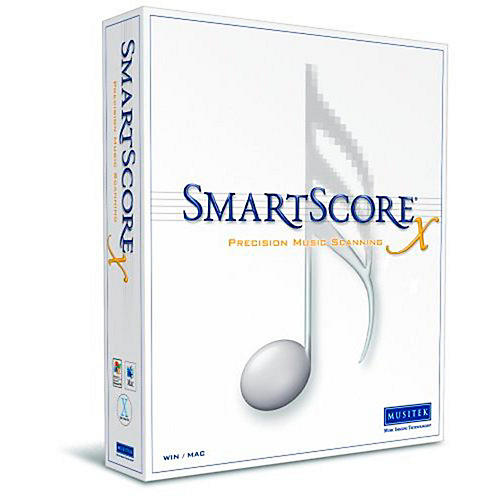Musitek SmartScore X2 Pro Music Scanning Software 2-Pack