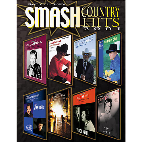Alfred Smash Country Hits 2001 Book