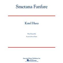 Associated Smetana Fanfare (Full Score) Concert Band Level 4-5 Composed by Karel Husa