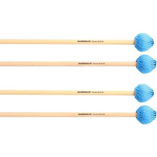 Malletech Smith Vibraphone Mallets Set of 4 (2 Matched Pairs)