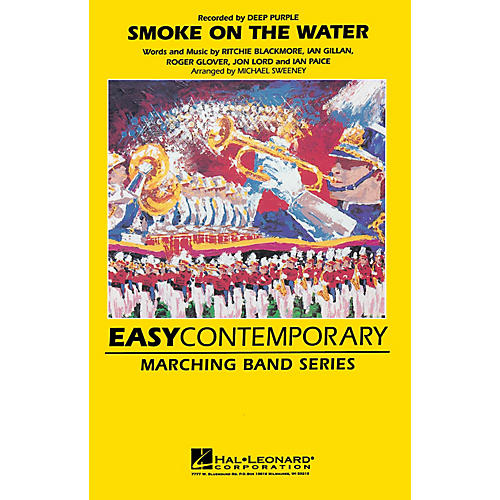 Hal Leonard Smoke on the Water Marching Band Level 2-3 Arranged by Michael Sweeney