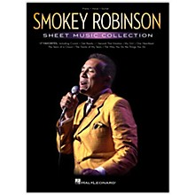 Hal Leonard Smokey Robinson - Sheet Music Collection Piano/Vocal/Guitar Songbook