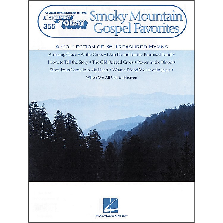 Hal LeonardSmoky Mountain Gospel Favorites E-Z Play 355
