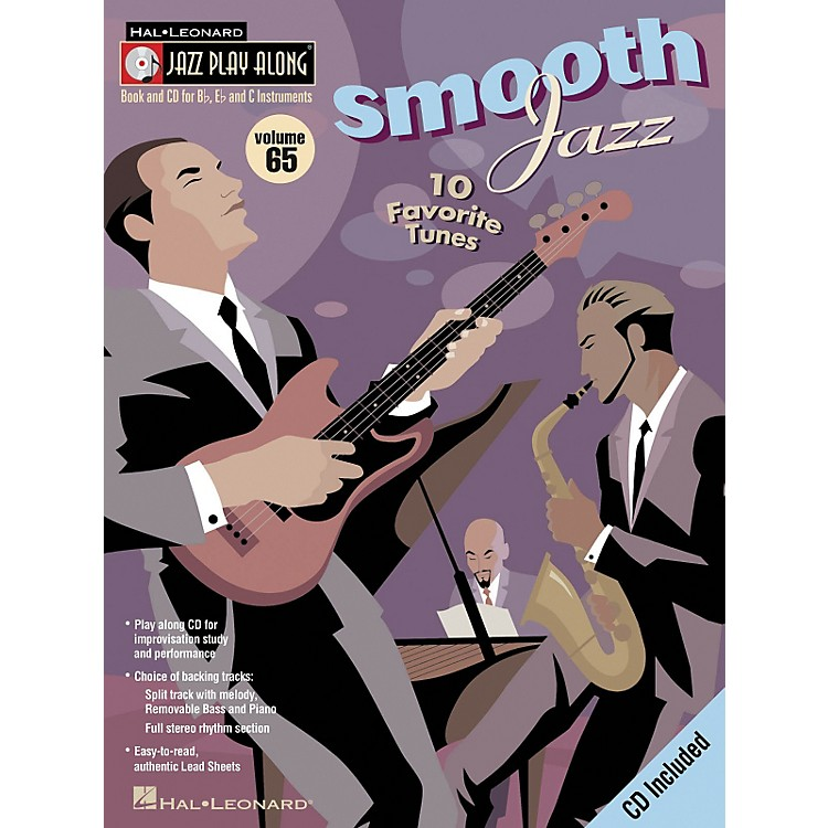 Hal Leonard Smooth Jazz - Jazz Play Along Volume 65 Book CD
