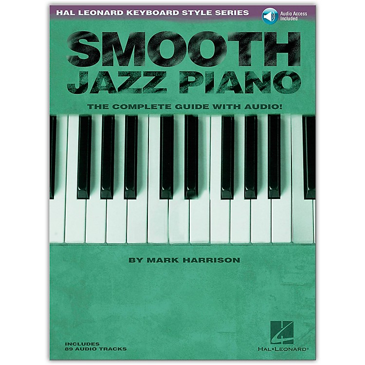Hal Leonard Smooth Jazz Piano Book/CD Hl Keyboard Style Serieser