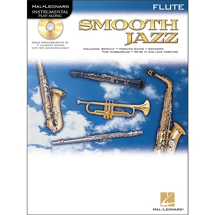 Hal Leonard Smooth Jazz for Flute Book/CD