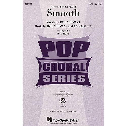 Hal Leonard Smooth ShowTrax CD by Santana Arranged by Mac Huff-thumbnail