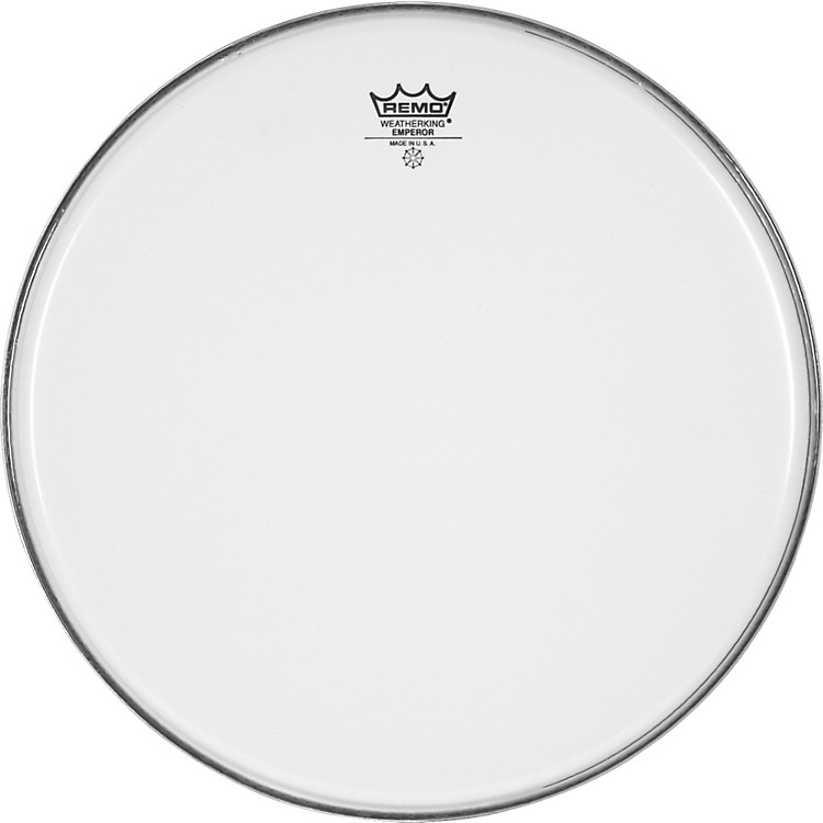 Remo Smooth White Emperor Batter Head  14 Inches