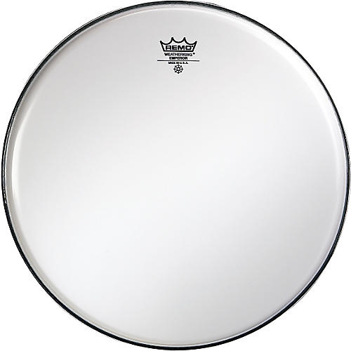 Remo Smooth White Emperor Drumheads 6 in. White